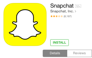 Download Snapchat to the iPad | Snapchat to the iPad